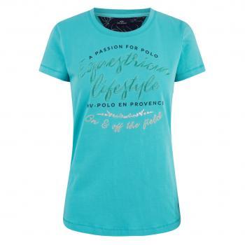 HV POLO T-Shirt Edita, Blue turquoise