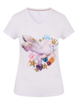 Imperial Riding T-Shirt Emotions, Weiss